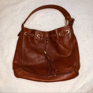 Cole Haan Drawstring Saddle Shoulder Bag